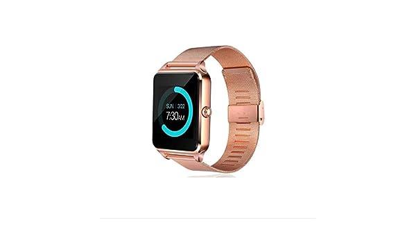 POKQHG Smart Horloge Mannen Vrouwen Bluetooth Smartwatch ...