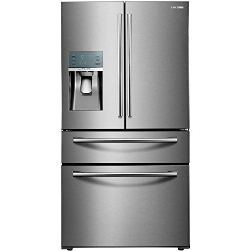 Samsung 28 Cu. Ft. Stainless Steel French Door Food ShowCase Refrigerator by Samsung