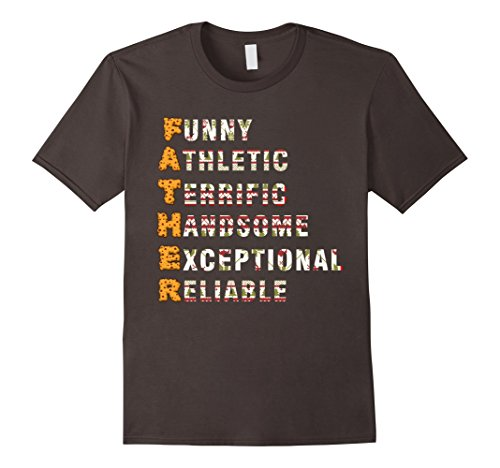 Mens Father Shirt Family Outfits for Dad. Christmas Gifts for Dad XL Asphalt