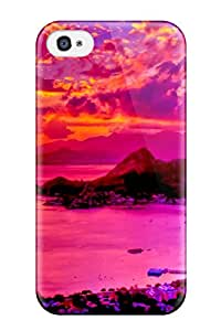 Cheap MarvinDGarcia Case Cover Skin For Iphone 4/4s (harbor Sunset) MFTIERVMI3VK3U6G