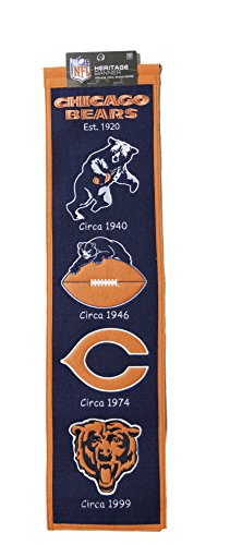 chicago bears heritage banner - 3
