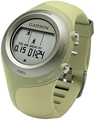 Garmin Forerunner 405 Wireless GPS-Enabled Sport Watch with USB ANT Stick and Heart Rate Monitor (Green) (Discontinued by Manufacturer) (Certified Refurbished)