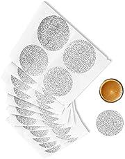 Vertuo Pods Lids Aluminum Foil Seals Lids for Reuse Espresso Capsules Reusable Vertuoline Coffee Pods Compatible with Nespresso Vertuoline Coffee Pods Vertuo Capsules