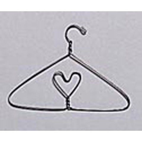 - Darice Bulk Buy DIY Crafts Hanger with Heart Wire 6 inches (12-Pack) 6022