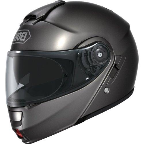 Shoei Metallic Neotec Road Race Motorcycle Helmet - Anthracite/2X-Large