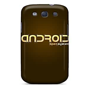 Premium Tpu Droid Cut Cover Skin For Galaxy S3 by lolosakes