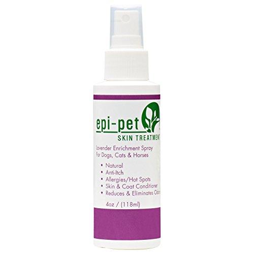 Epi-Pet Lavender Skin Enrichment Spray for Pets, 4-Ounce by Epi-Pet