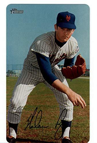 - 2019 Topps Heritage 1970 Topps Super Baseball Box Toppers #9 Nolan Ryan NM-MT New York Mets Baseball MLB