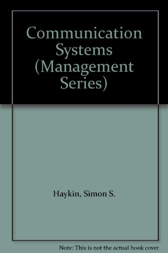 Communication Systems (Management Series)