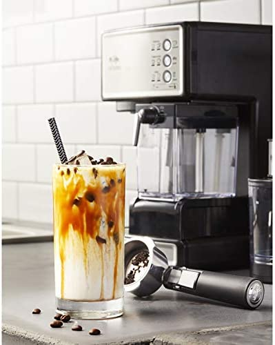 Mr. Coffee Espresso and Cappuccino Maker | Café Barista , Silver 410jJ34OeRL