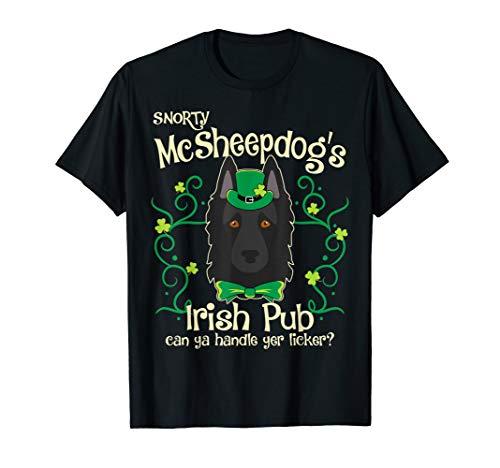 Belgian Sheepdog Dog Gifts St Patricks Day T-Shirt