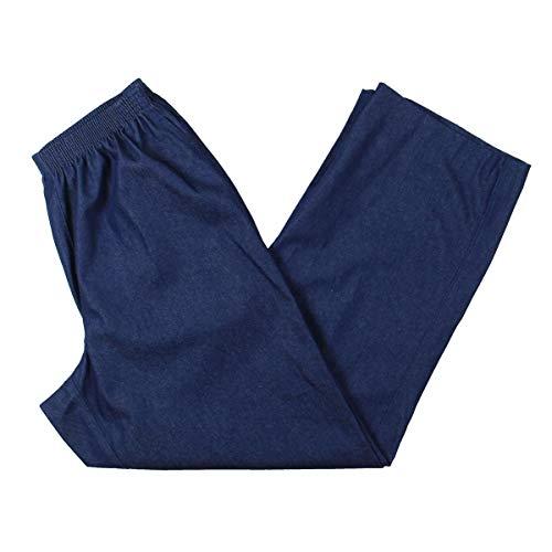 Alfred Dunner Women's Short Length Pant,Denim,12
