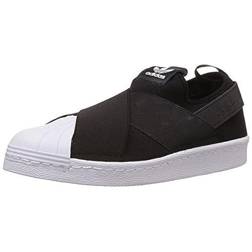 62f25a86ec4129 low-cost Adidas Superstar Slip On Femme Baskets Mode Noir, Black, 43 ...