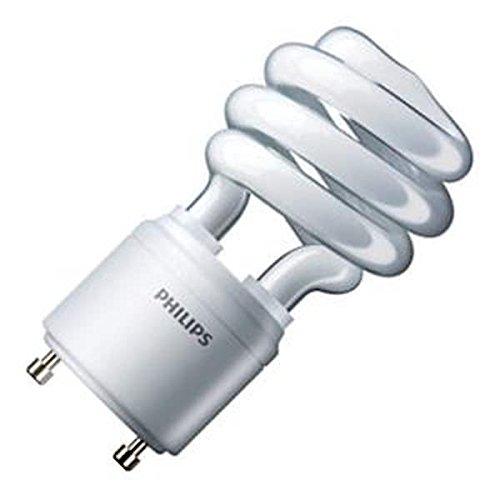 Philips Lighting 454165 Spiral Energy Saver Compact Fluorescent Lamp 13 Watt GU24 Base 900 Lumens 82 CRI - 41k Fluorescent Compact Lamp