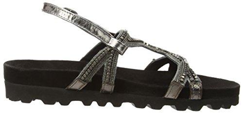 Cinturino Alla Caviglia Sandalo Donna Xyxyx Nero (nero)