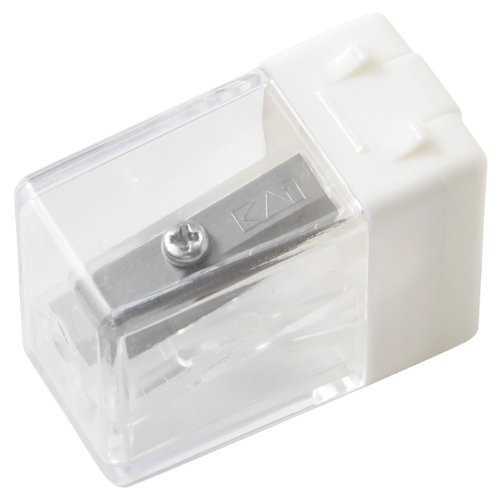 MoMa MUJI Small White pencil sharpener MADE IN JAPAN NEW 2013 by MUJI by MUJI