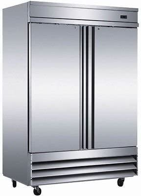 54 Commercial Reach In Stainless Steel Refrigerator CFD-2RR