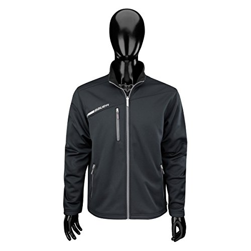 Bauer Flex Full Zip Tech Fleece Senior, Größe L;Farbe schwarz