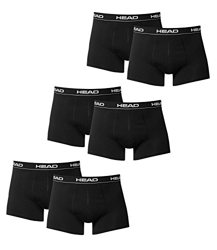 Hombre Diferentes M En 6 De Head Paquete Algodón Boxer Calzoncillos Colores Negro 0q4Fvxgnw