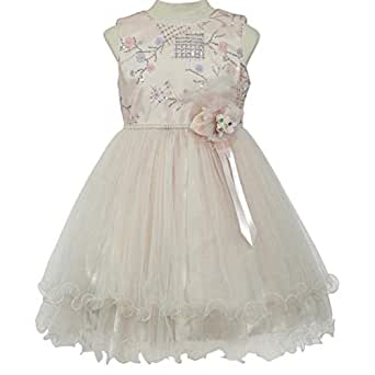 Pamina Gown For Girls - 6-7 Years, Pink