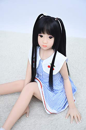 Candy Doll 正规品阳気な女の子 ロリ 貧乳 100cm110cm シリコン