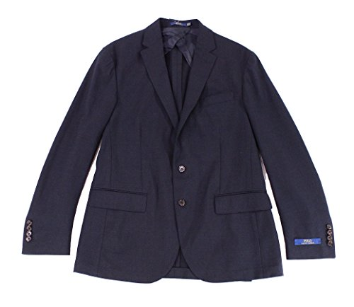ns Regular Two Button Wool Blazer Blue 40 ()
