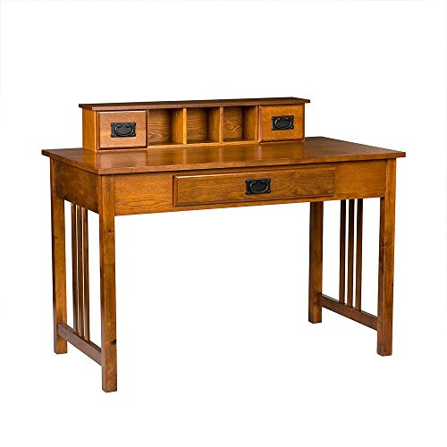 Holly and Martin Sebastian Desk in Mission Oak