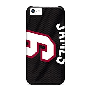 Iphone 5c Nth9544prsW Allow Personal Design Realistic Miami Heat Image Scratch Protection Hard Phone Cases -JasonPelletier hjbrhga1544