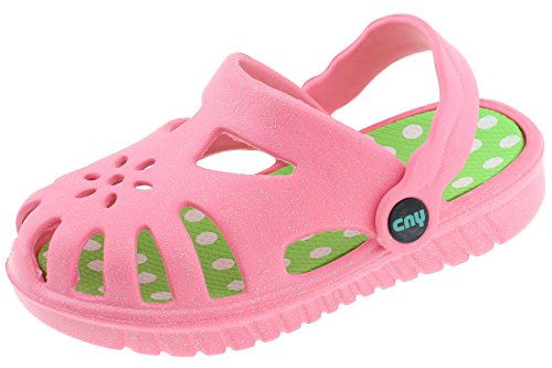 Capelli New York Toddler Girls Owlet Injected EVA Clog With Backstrap FIG-1511T