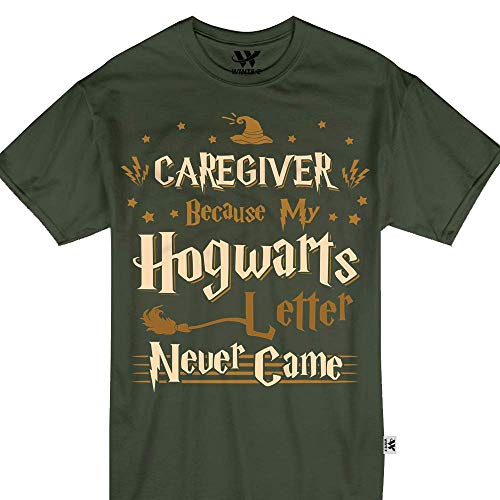 Caregiver Because My Hogwarts Letter Never Came Halloween Tshirt -