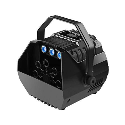 Led Mini Bubble Machine (Three-In-One) / Us Regulations,Automatic Bubble Machine Remote Control Stage Atmospher Wedding Party Blowing Foaming for Dj Show Light 15W Electric Maker Blower from LOYALHEARTDY19