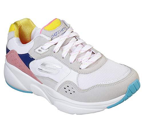 Blanc Wmlt Femme Baskets Worries Skechers Multi white no Meridian PRWnPxXH