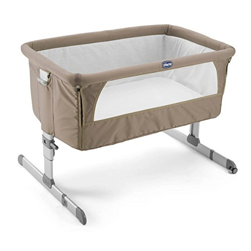 Chicco Next 2 Me - Cuna, color beige oscuro