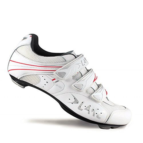 Lake CX160 Road Shoes - WHITE/RED, 44