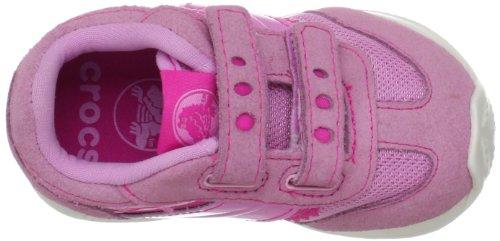 Crocs Crocs Retro Sprint Sneaker 12488-6I6-116, Unisex - Kinder Sneaker, Rosa (Carnation/Neon Magenta), 25 EU
