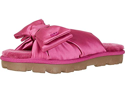 UGG Women's LUSHETTE Puffer Flat Sandal, Fuchsia, 10 for sale  Delivered anywhere in USA