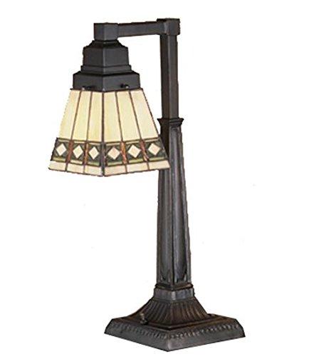 Meyda Tiffany 48213 Diamond Mission Desk Lamp, 20