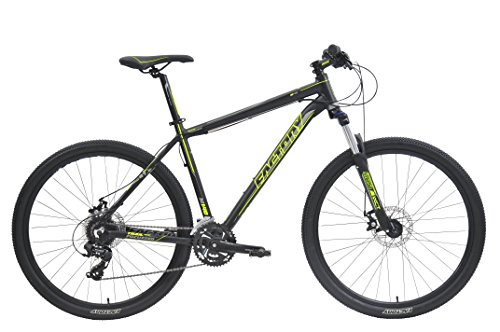 CLEARANCE SALE - Factory MTB Bike M140 -27.5',C-T:17',24SP,BK/YELLOW for Men