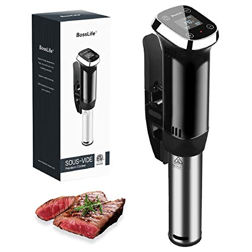 Sous Vide Cooker, Ultra-fast Heat-up Sous Vide Immersion Circulator 800W with Accurate Time Temperature Control Dual…