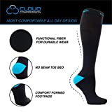 Cloud Compression Extra Large Compression Sock