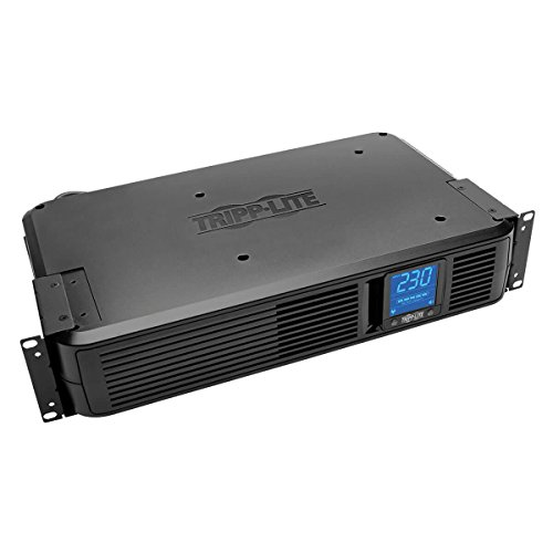 Tower Digital Lcd Line - Tripp Lite SMX1500LCD 1000VA Intl UPS Smart Pro Rack/Tower Digital LCD 230V Line-Int 8 outlets
