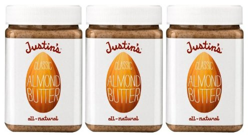 Justin's Natural Almond Butter -- 16 oz (Pack of 6)