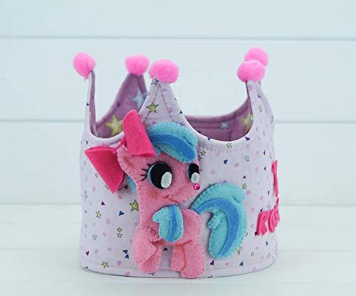 Corona Cumpleaños Little Ponny: Amazon.es: Handmade