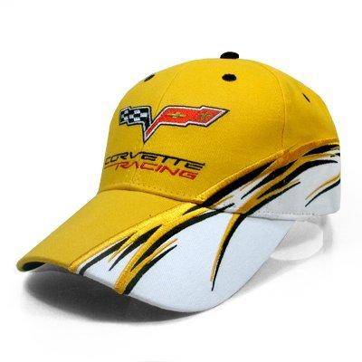 (Corvette C6 Racing Flash Yellow Cap)