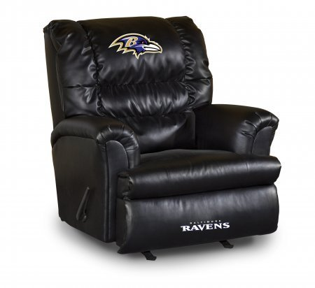 Nice Imperial Officially Licensed NFL Furniture: Big Daddy Leather Rocker  Recliner, Baltimore Ravens