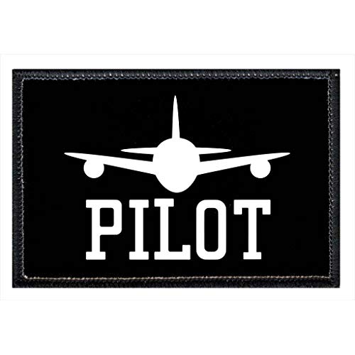 Pilot - Pull Patch Tactical Moral Patches for Hats & Caps - 3
