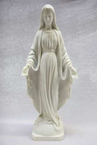 19'' Our Lady of Grace Virgin Mary Catholic Statue Sculpture Figurine Vittoria Collectin Made in Italy Religious by Vittoria Collection