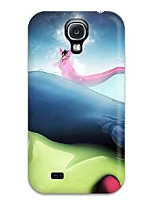 Special Design Back Fluid And Vivid Phone Case Cover For Galaxy S4