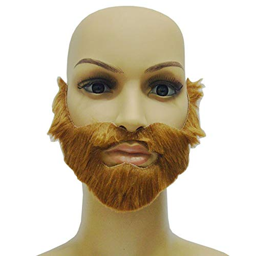 Clearance Sale - Fancy Dress Costume Party Halloween Costumes Fake Mustache Funny Beards Whisker Festival Tb - Dress Costumes Fancy Party Party Masks Fancy Adult Mask Venetian Terrible Daria -