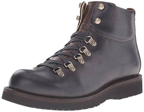 FRYE Men's Evan Hiker Combat Boot, Black, 10 M US